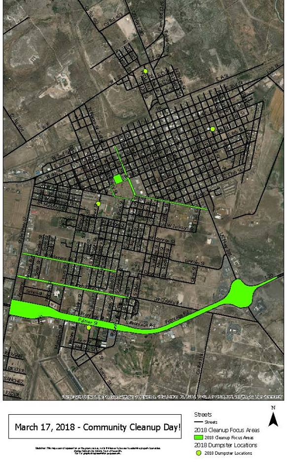 City Cleanup Map